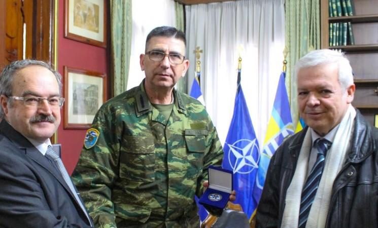 Εθιμοτυπική επίσκεψη του Παραρτήματος Θεσσαλονίκης ΕΑΑΑ στο νέο  Δκτή του Γ΄ΣΣ / NRDC-GR