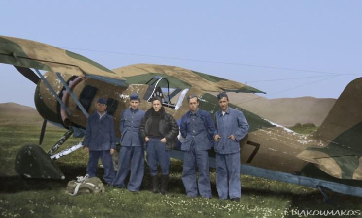 Οι Έλληνες αεροπόροι κατά τον Β΄ Παγκόσμιο Πόλεμο