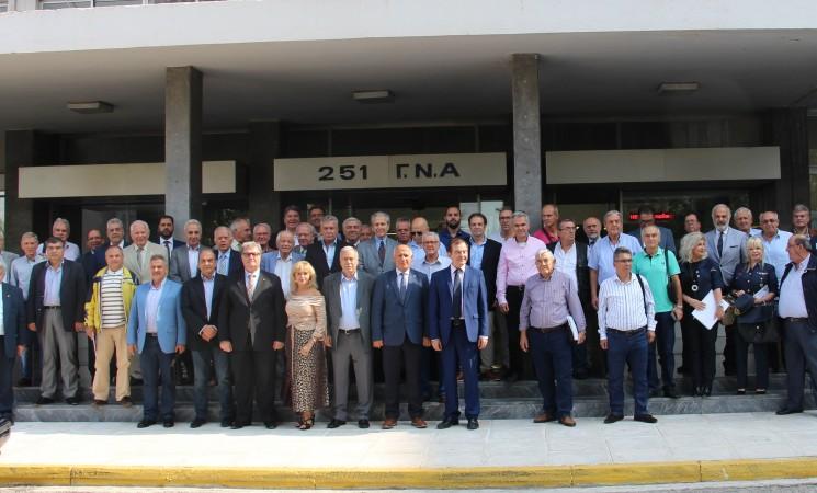 """Περατώθηκαν με επιτυχία οι εργασίες του 1ου συνεδρίου """"Στρατηγικής & Τεχνολογίας"""" της ΕΑΑΑ"""