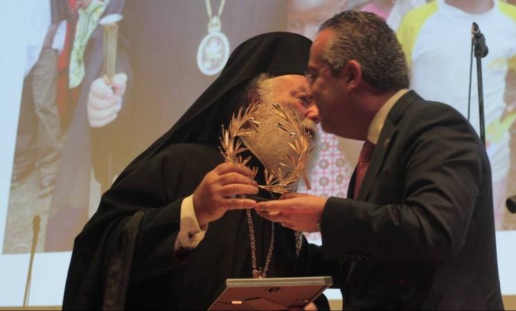 Η ΕΑΑΑ στην αναγόρευση του Πάπα και Πατριάρχη Αλεξανδρείας και πάσης Αφρικής κ.κ. Θεόδωρου Β'σε Επίτιμο Δημότη Παπάγου – Χολαργού