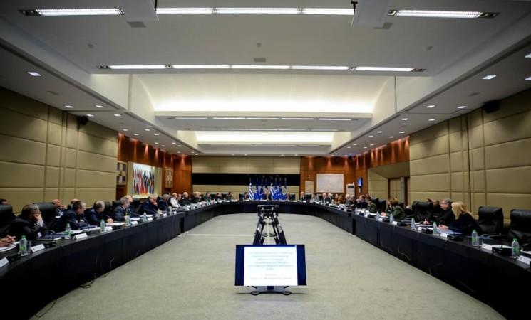 Το Συντονιστικό των ΕΑΑ σε σύσκεψη υπό τον κ.ΥΦΕΘΑ