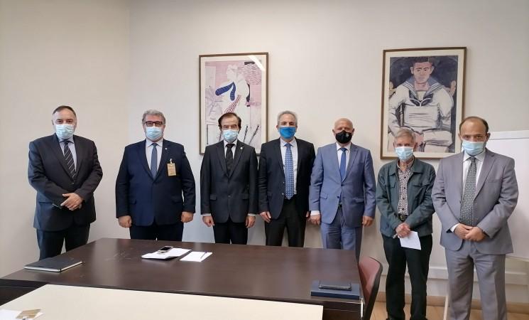 Συνάντηση του Προέδρου της ΕΑΑΑ με τον Σύμβουλο Εθνικής Ασφάλειας του Πρωθυπουργού